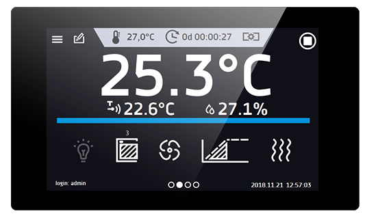 Smart Pro - large readable color display